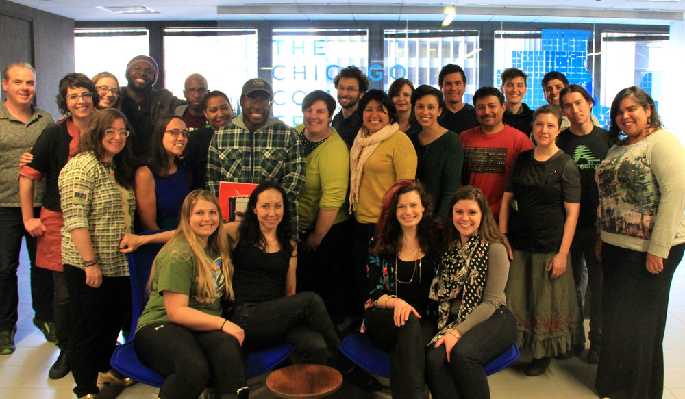 Participants of the 2015 Build With research jam. Photo by Daniel X. O'Neil.