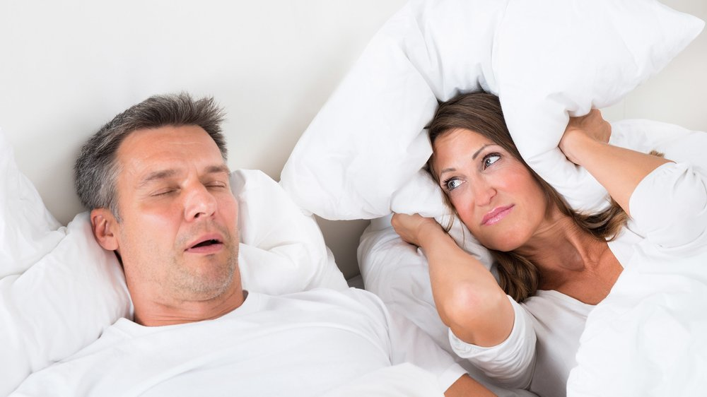 Sleep Apnea affects not only your sleep, it also affects the sleep of your loved ones, even if they sleep in a different room.