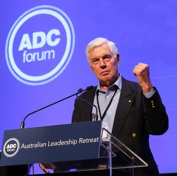 ADC Forum Patron, Major General the Honourable Michael Jeffery, AC, AO (Mil), CVO, MC (Retd)