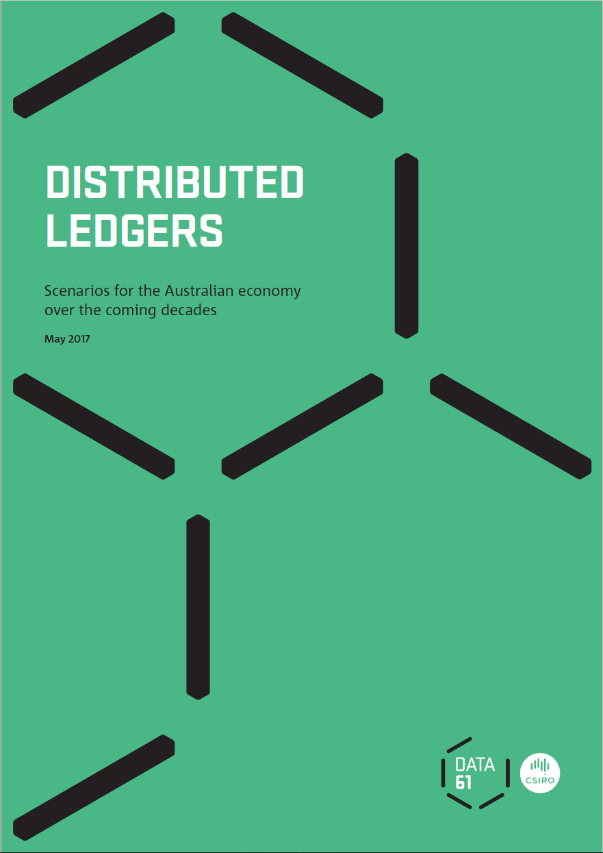 Data61Industry Report 1 - Distributed Ledgers: Scenarios for the Australian economy over the coming decadesDownload it here