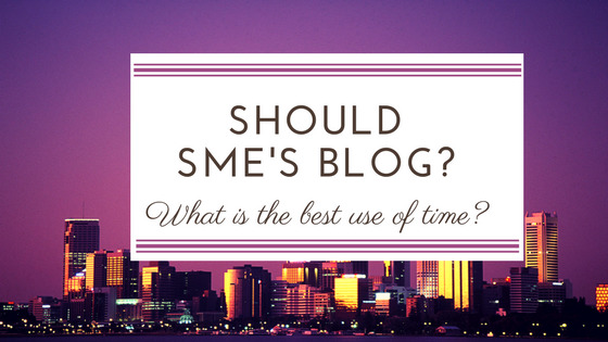 Should SME'sBlog