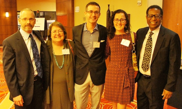 J61 David Spaulding, Nancy Strelau, Michael Tamm, Katie Barrett, Hubert Farbes.jpg