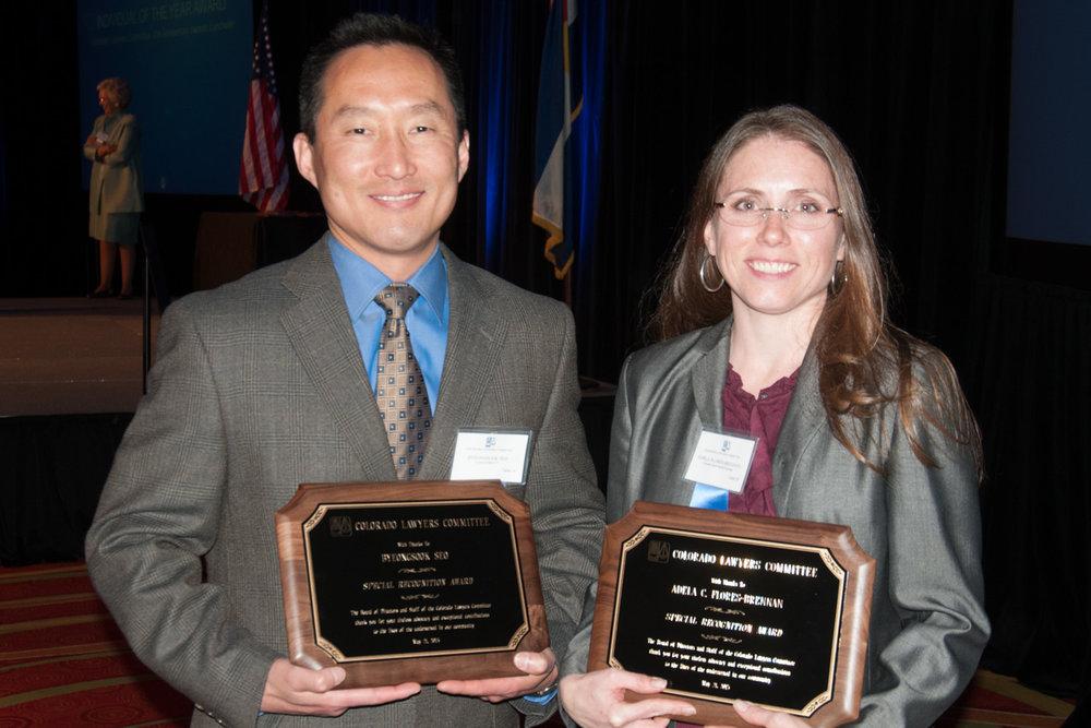 H58A Byeongsook Seo and Adela Flores-Brennan Accept Special Recognition Award 1 (Photo courtesy of Hartmannphoto, LLC).jpg