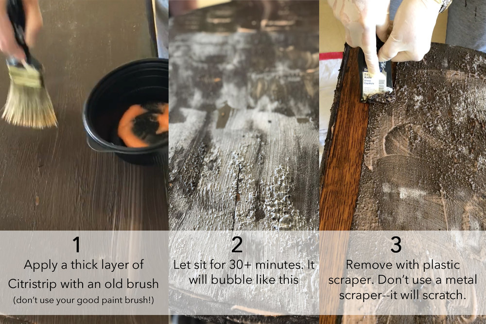 strip and finish table how-to, DIY table makeover, furniture makeover in an afternoon, BB Frosch, do it yourself projects for the home, do it yourself home projects, DIY project on a budget, strip and finish table project, affordable DIY, home design, home projects