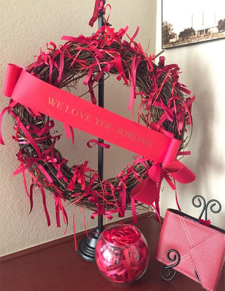 Jordan's Memory Wreath