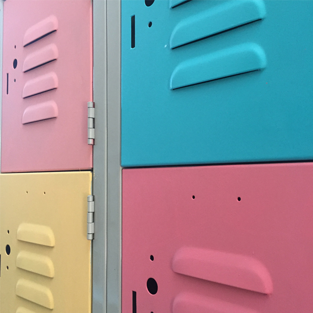 children's bedroom makeover, kids bedroom DIY makeover, bedroom makeover on a budget, colorful bedroom, kids furniture makeover, kids furniture transformations, DIY metal locker makeover, painted metal, before and after kids bedroom makeover, sprayer projects