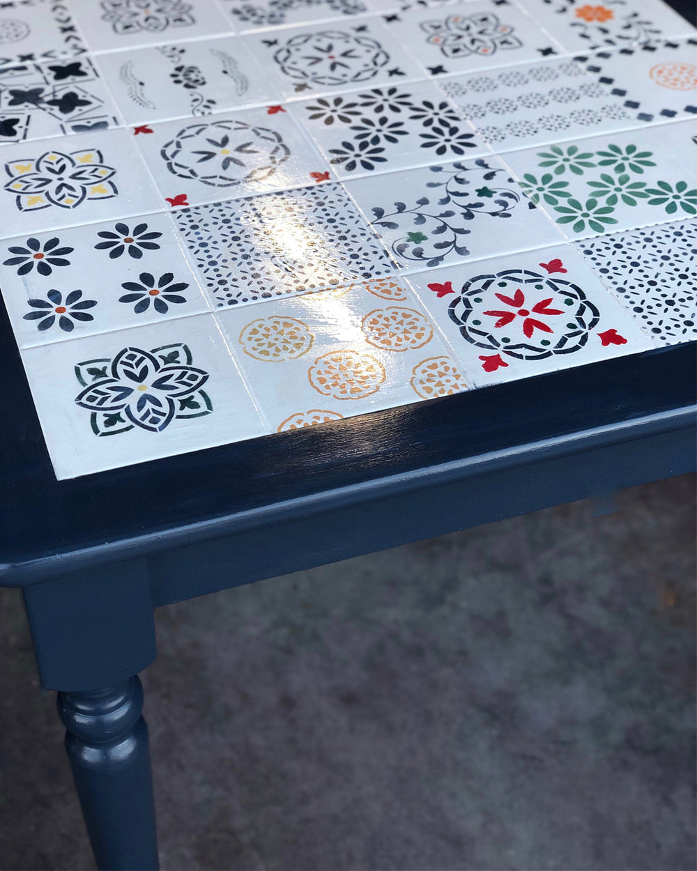 table makeover, DIY makeover, DIY furniture makeover, DIY at home project, furniture makeover project, Dated Tile Table Makeover, furniture makeover project, before and after furniture makeover, BB Frosch, chalk paint DIY, chalk paint furniture makeover project, DIY furniture makeover inspiration, DIY home weekend project