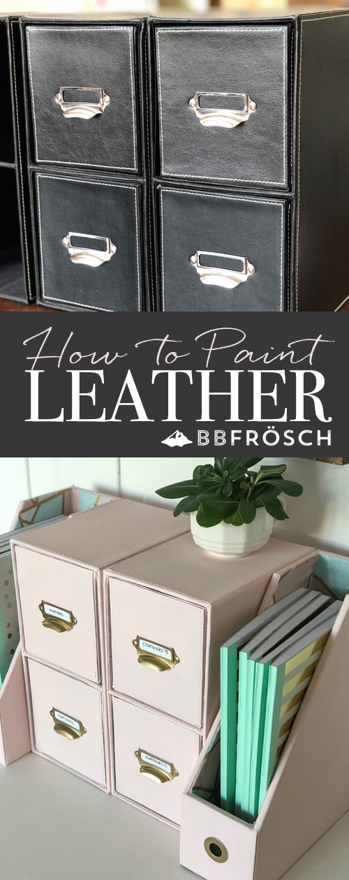BB Frosch, file box makeover, painted leather tutorial, chalk painting leather, where to buy chalk paint, chalk paint powder, office decor inspo, do it yourself home office decor, DIY makeovers, chalk paint like a pro, what is chalk paint, where to buy chalk paint powder, home decor transformations, home office transformation, hgtv, do it yourself office makeover, desk makeover, storage makeover, home office storage transformation, home projects, chalk paint home projects