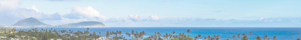 East Facing Ocean Views from Oahu