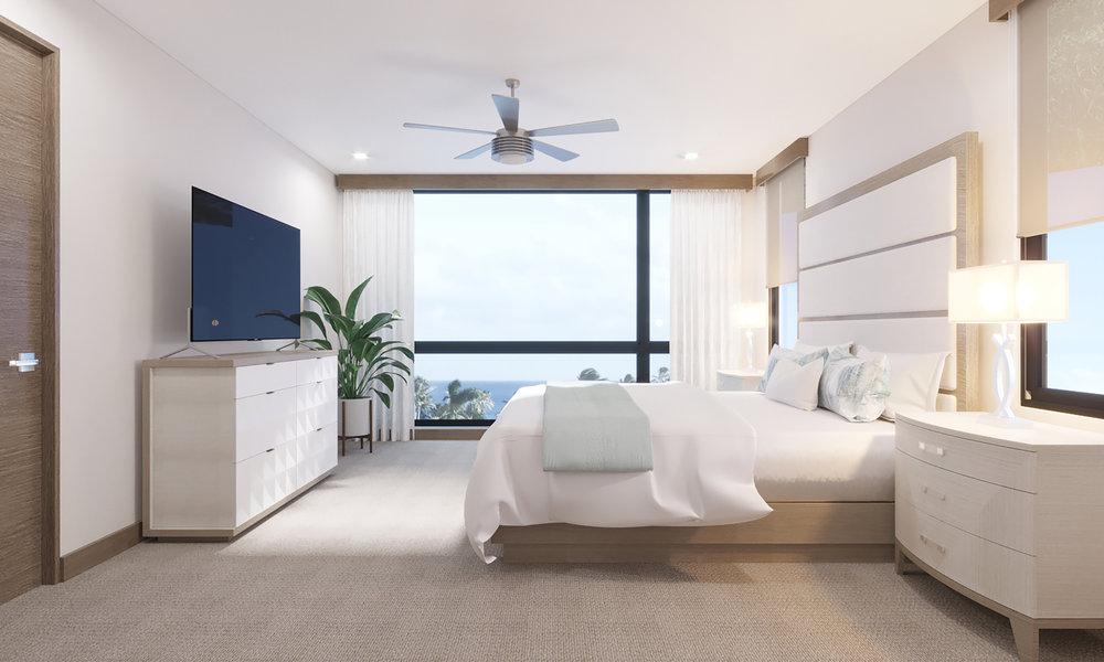 UPPER LEVEL: Bedroom 2