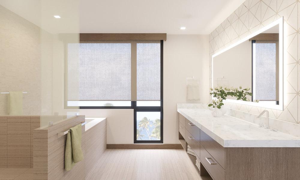 UPPER LEVEL: Bathroom 3