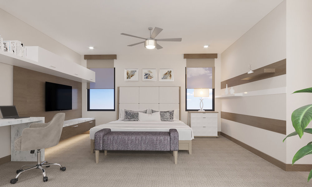 UPPER LEVEL: Guest Suite
