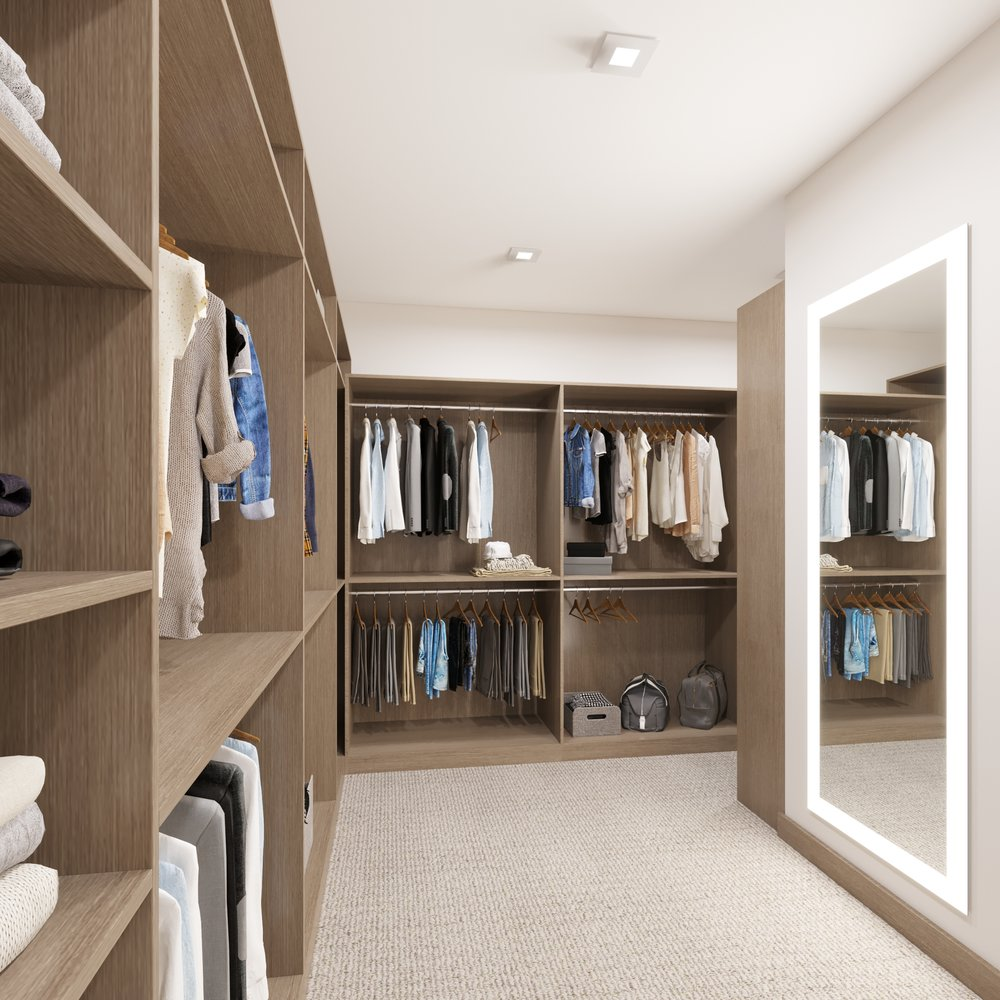 MAIN LEVEL: Master Closet