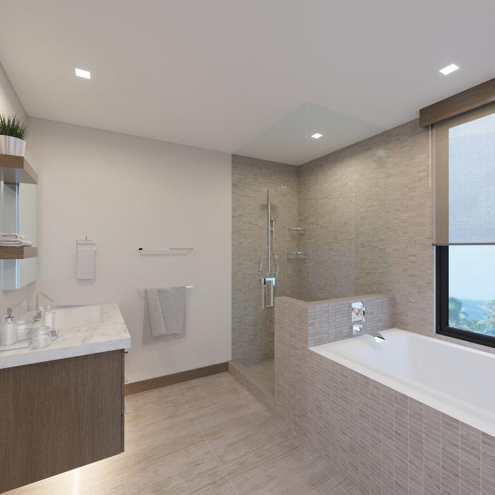 UPPER LEVEL: Guest Bath