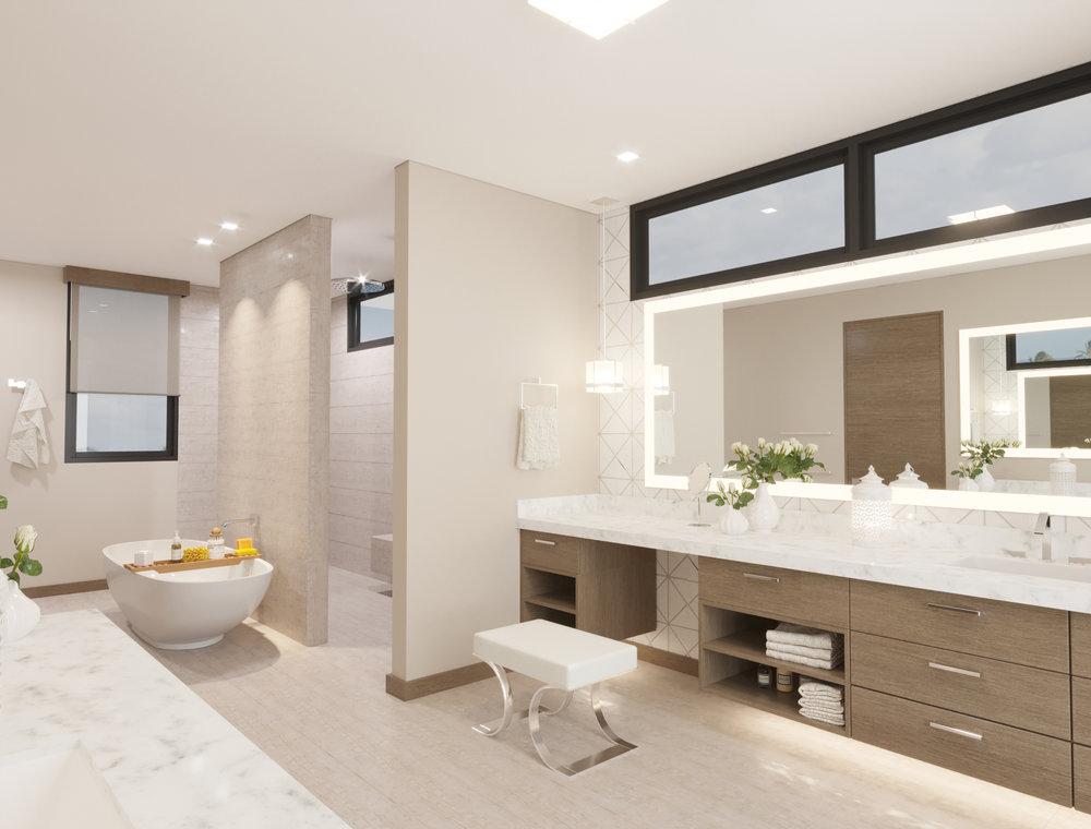 MAIN LEVEL: Master Bathroom