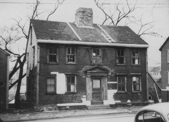 94 Benefit Street before preservation  ( Photo from the    PPS Gowdey Database   )