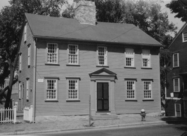 94 Benefit Street after preservation   (Photo from the    PPS Gowdey Database   )