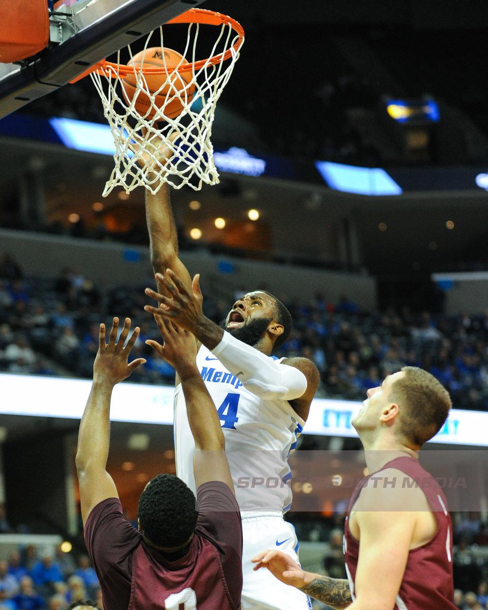 DEC 19; Memphis beats Little Rock, 99-89