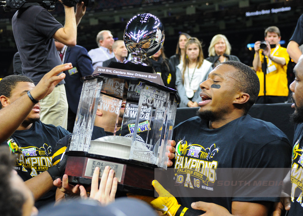 DEC 15; New Orleans Bowl: Appalachian State defeats Middle Tennessee, 45-13
