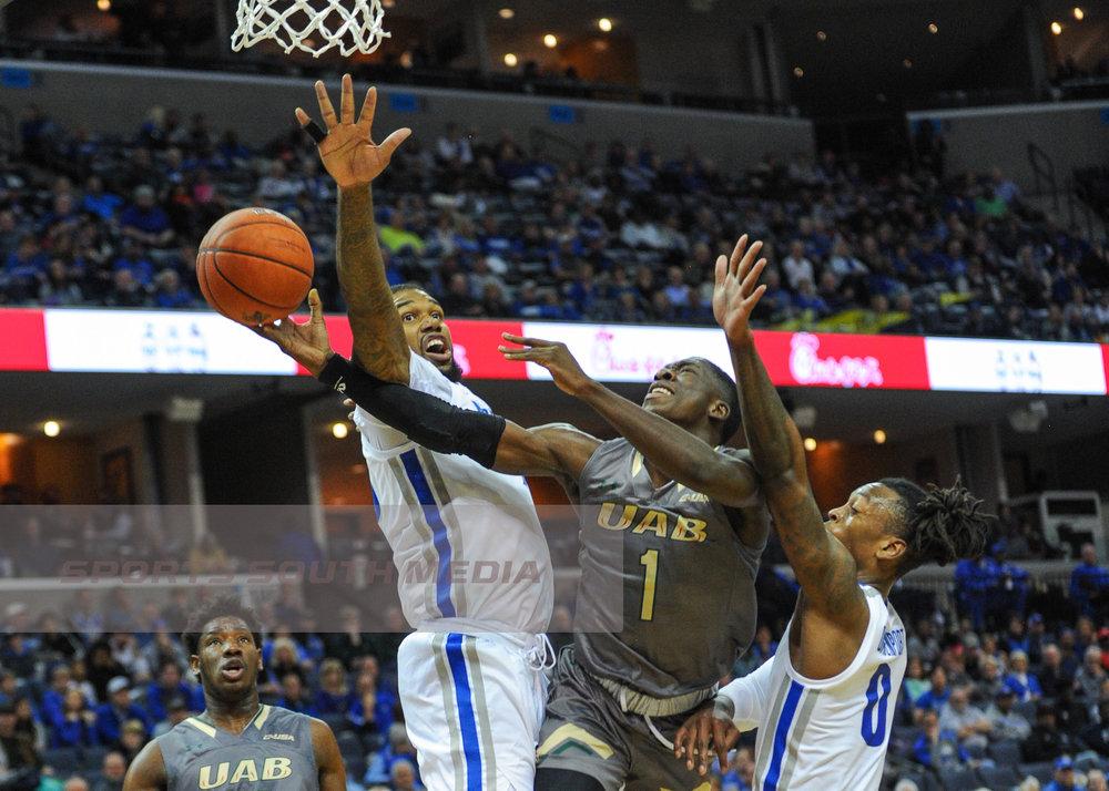 DEC 8: Memphis stops UAB; win 94-76