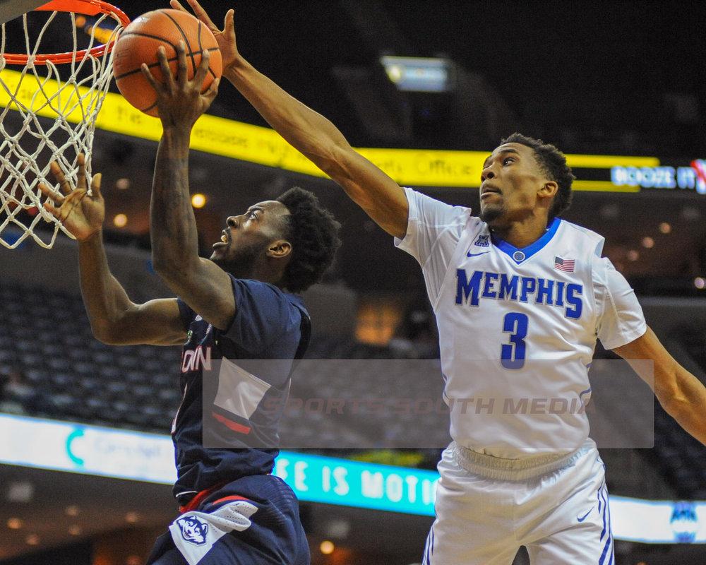 FEB 10; Memphis defeats UConn, win 78-71