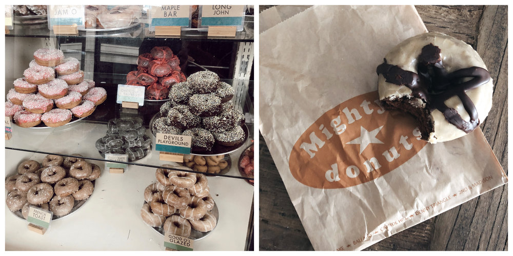 Mighty-O's Capitol Hill & the Chocolate and Peanut Butter-Glazed Doughnut