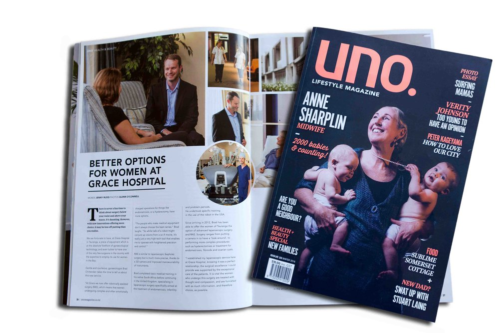 Grace Hospital Uno Magazine