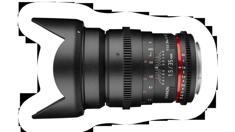 Rokinon 35mm CineDS