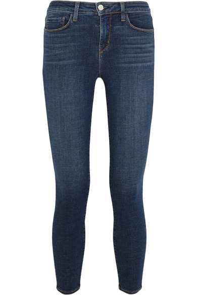 The Perfect Jeans - L'AGENCE Margot High Waist Crop Jeans