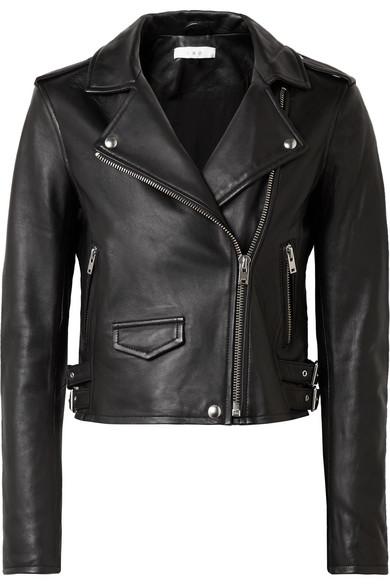 Leather Jacket - IRO Ashville Leather Jacket