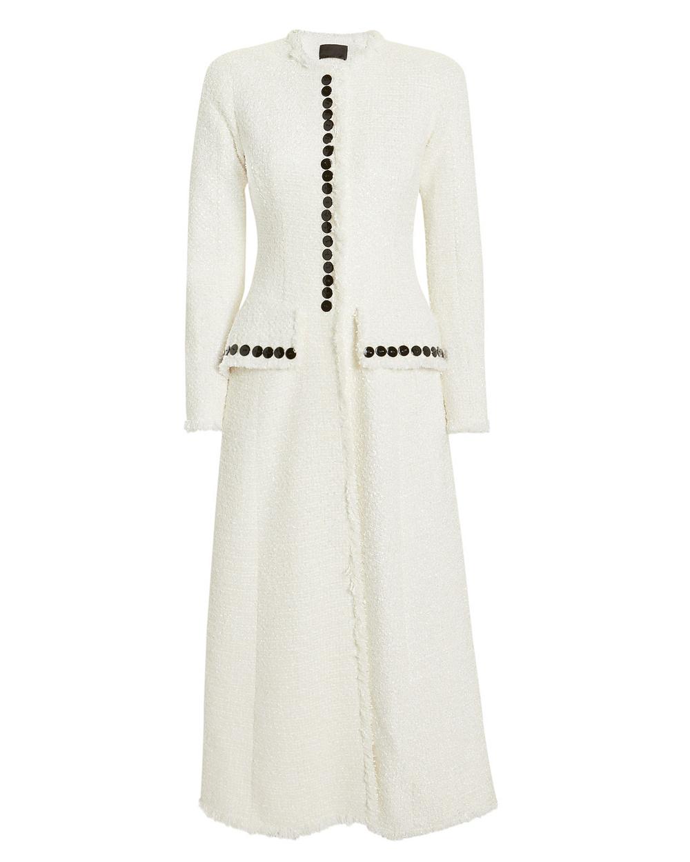 Tailored Coat - Alexander Wang Tweed Coat