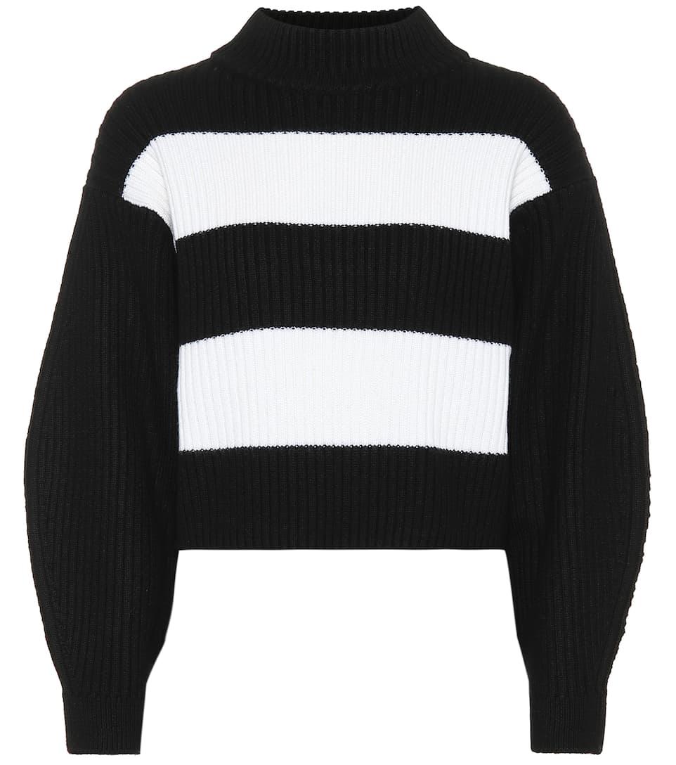 Stripe Sweater - TIBI Merino Wool Sweater