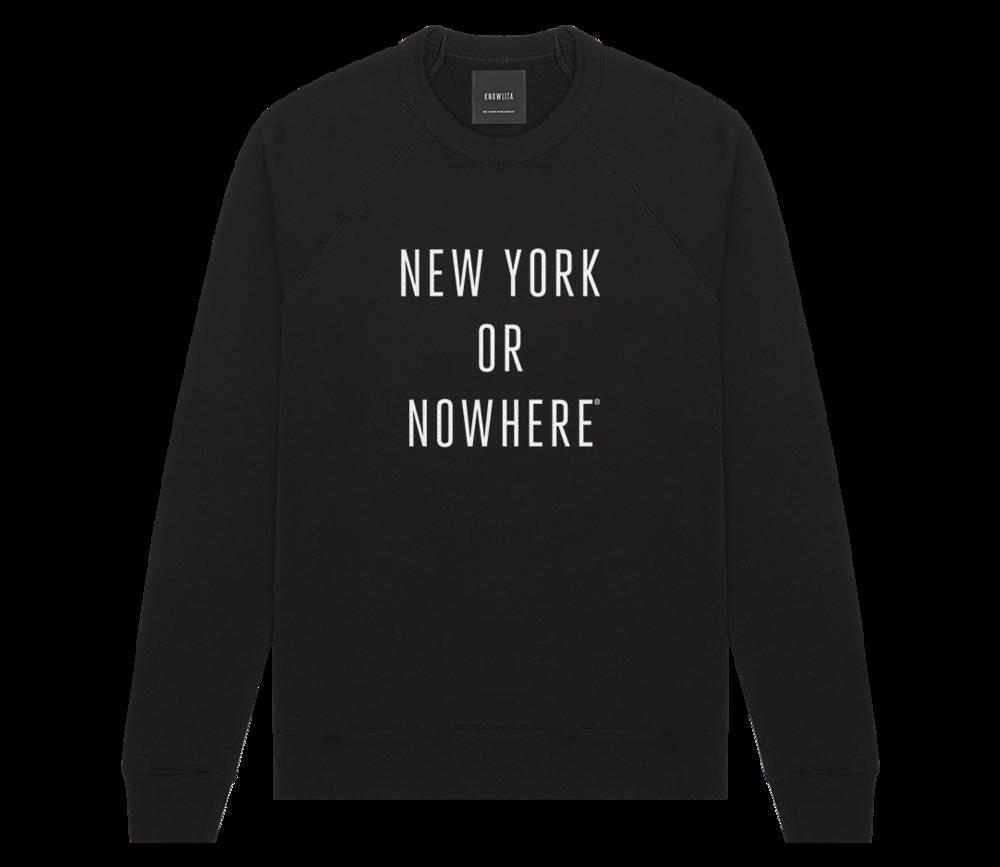 Crewneck - Knowlita New York or Nowhere Sweatshirt