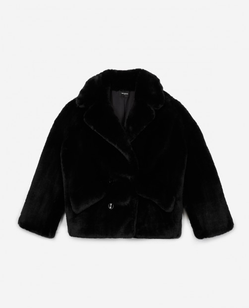 the kooples faux fur jacket -