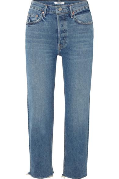 GRLFRND Straight-leg jeans -