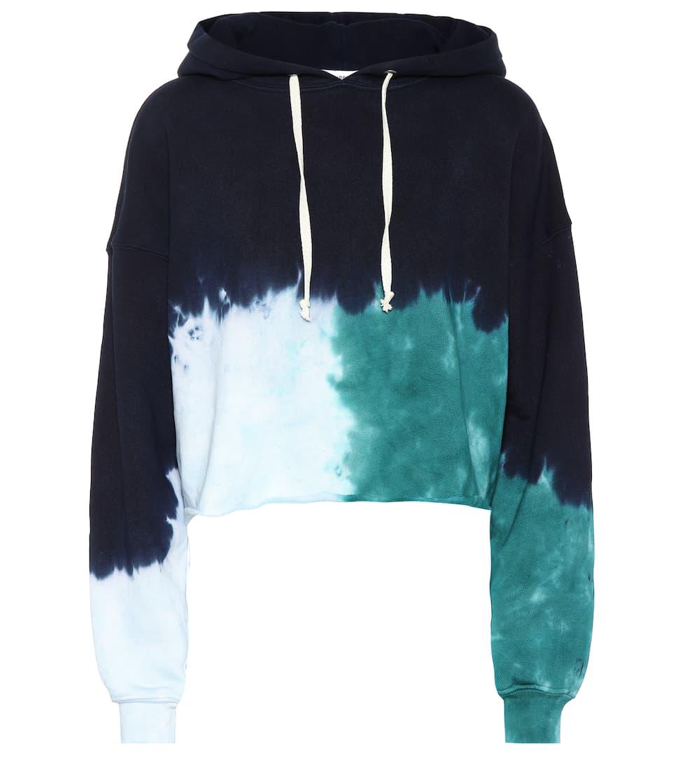 Re/Done tie dye hoodie -