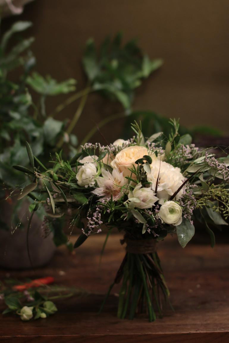 kukkakimppu, boho, cute flowers,
