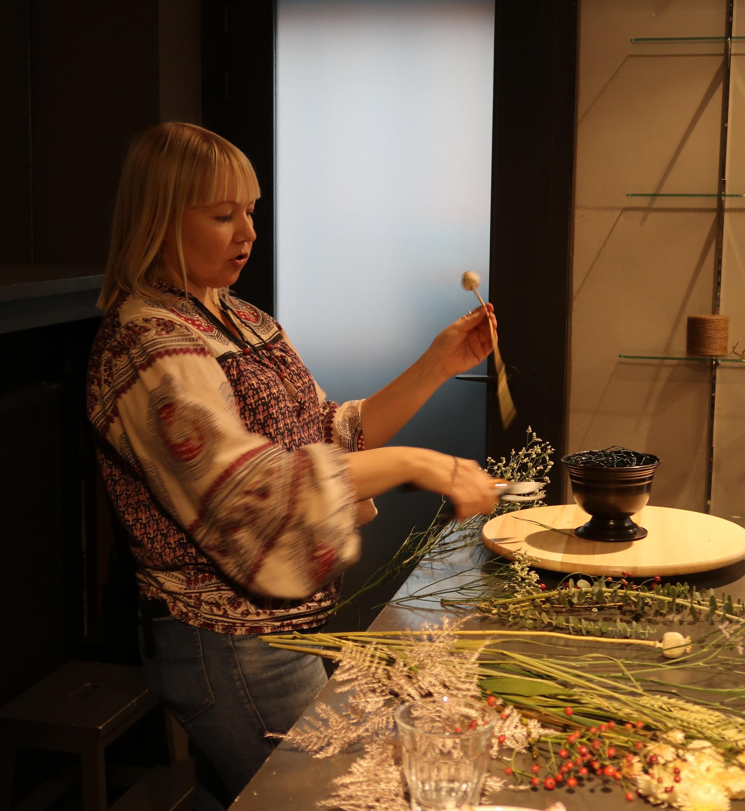 kuivakukka workshop, Hanna Piippo, kanaverkkotekniikka
