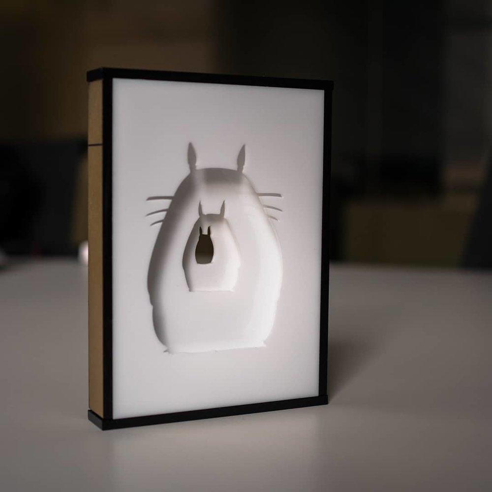 Totoro Light Box