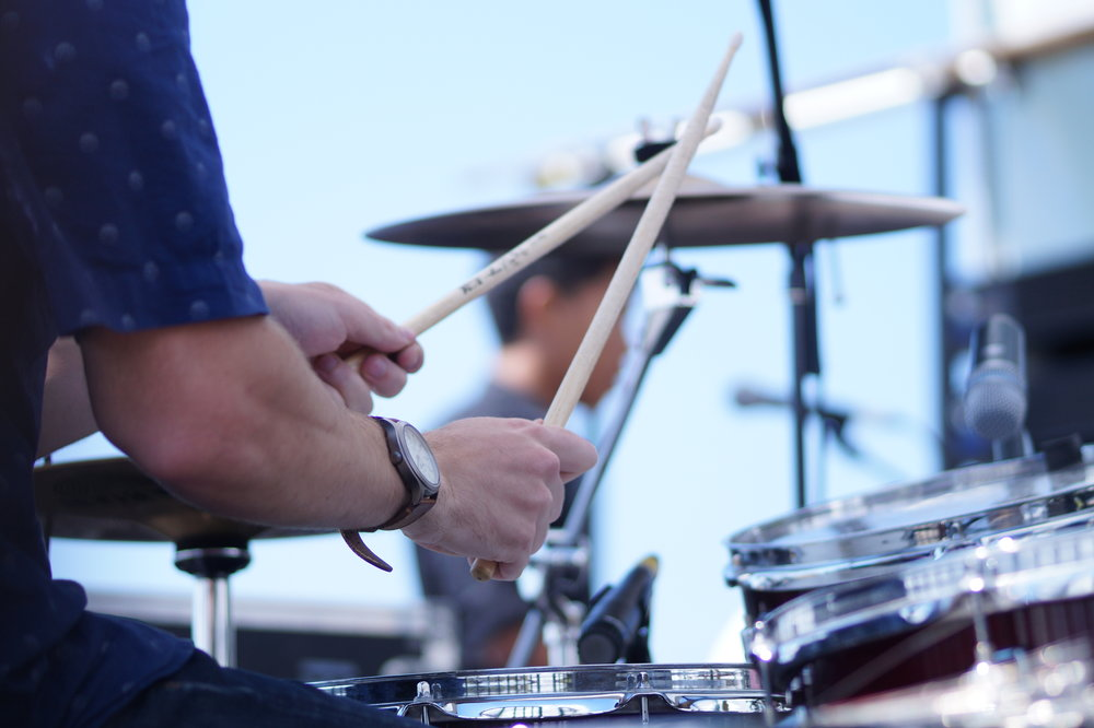 Drums and percussion - Lead the beat and drive the rhythm. Learn the drum kit and explore the world of percussion.