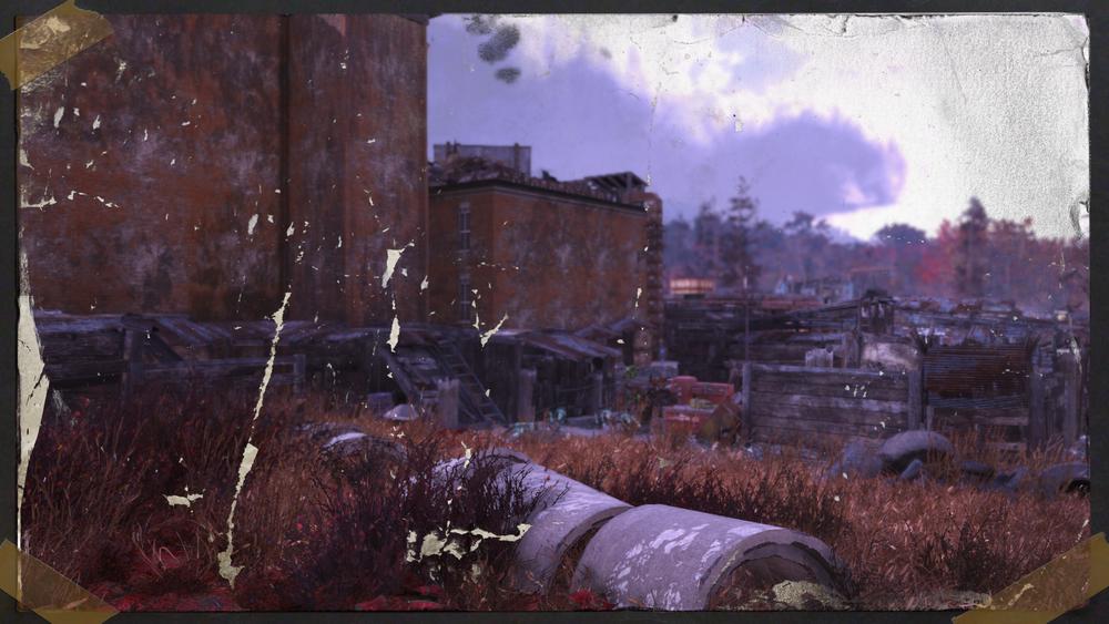 Abandoned Bog Town -