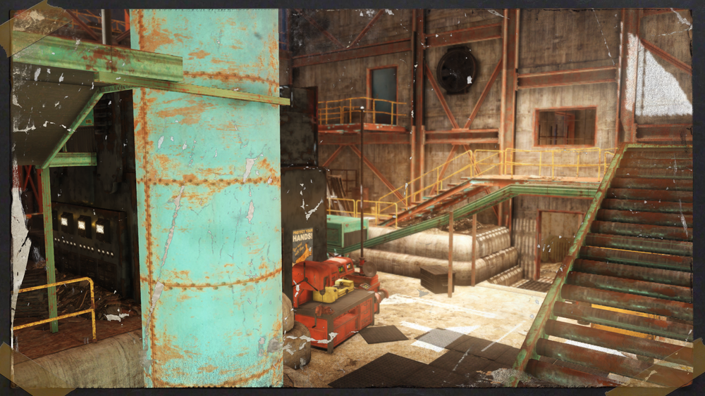 Converted Munitions Factory -