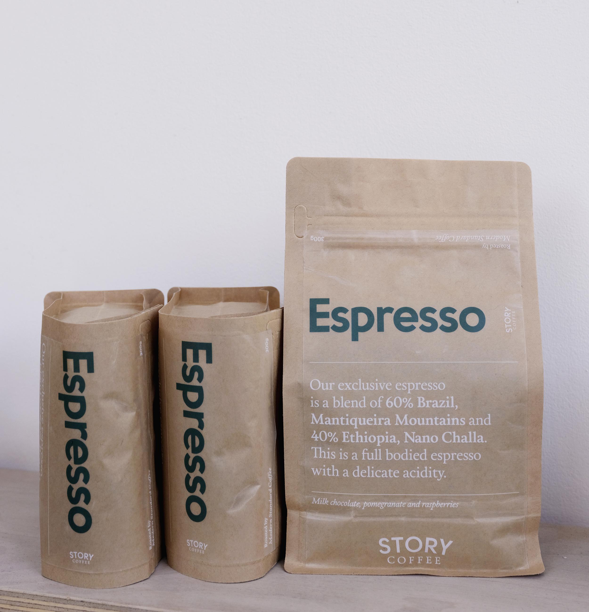 Story Coffee Espresso 300g Story Coffee