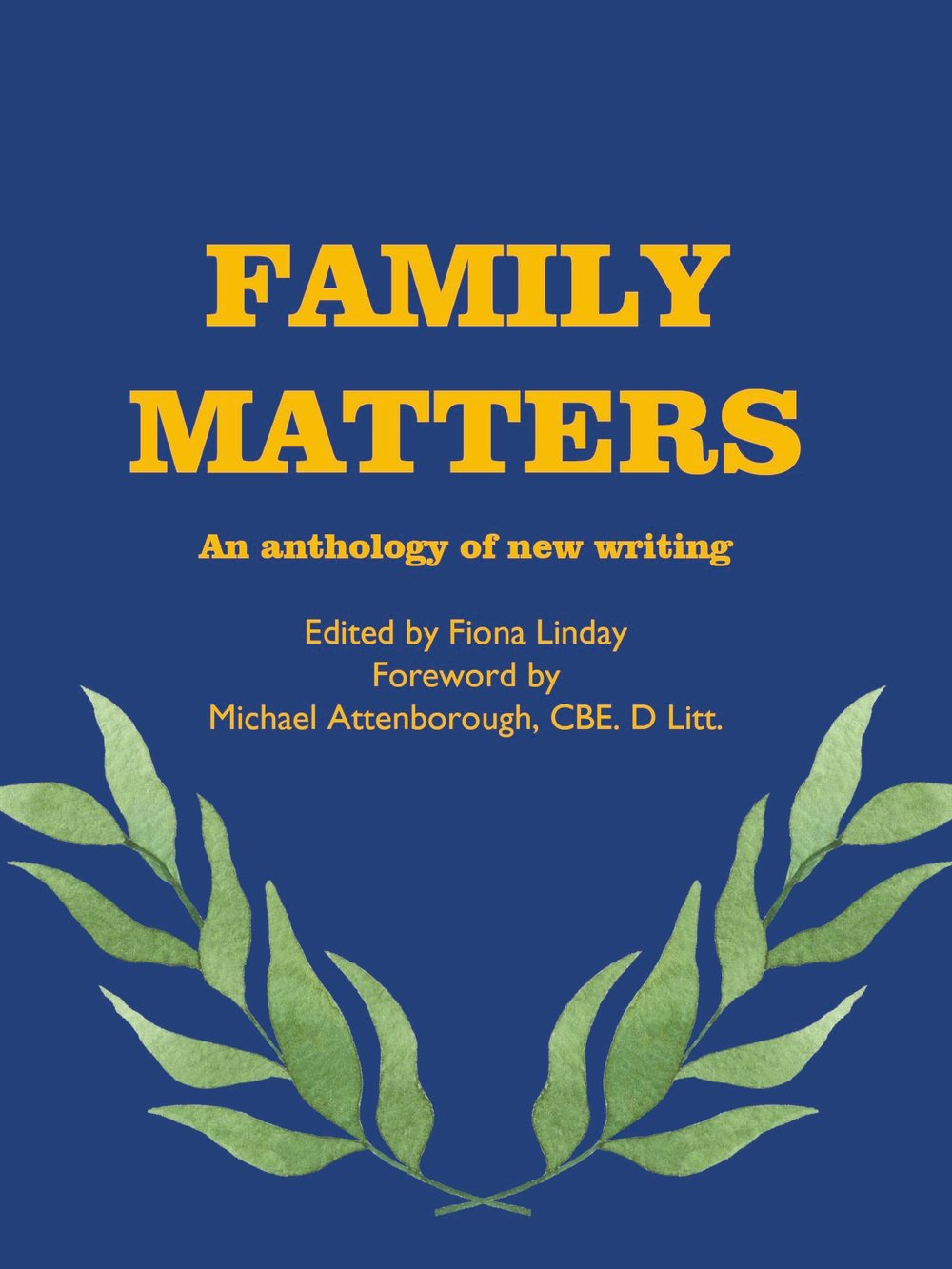family matters anthology launch - On 2nd March, Sophie joined writers at the Attenborough Arts Centre to celebrate the launch of the Family Matters anthology.Sophie read two of her poems, 'Changing Seasons' and 'Footprints in the Snow', both of which were published in the collection.