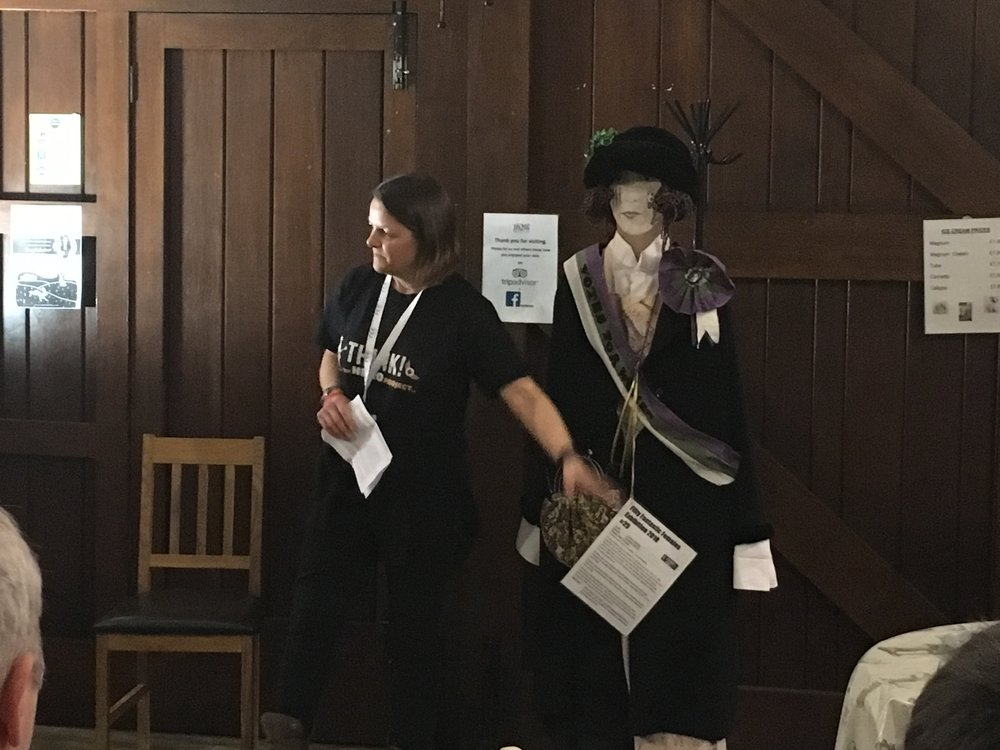 … and a Suffragette!
