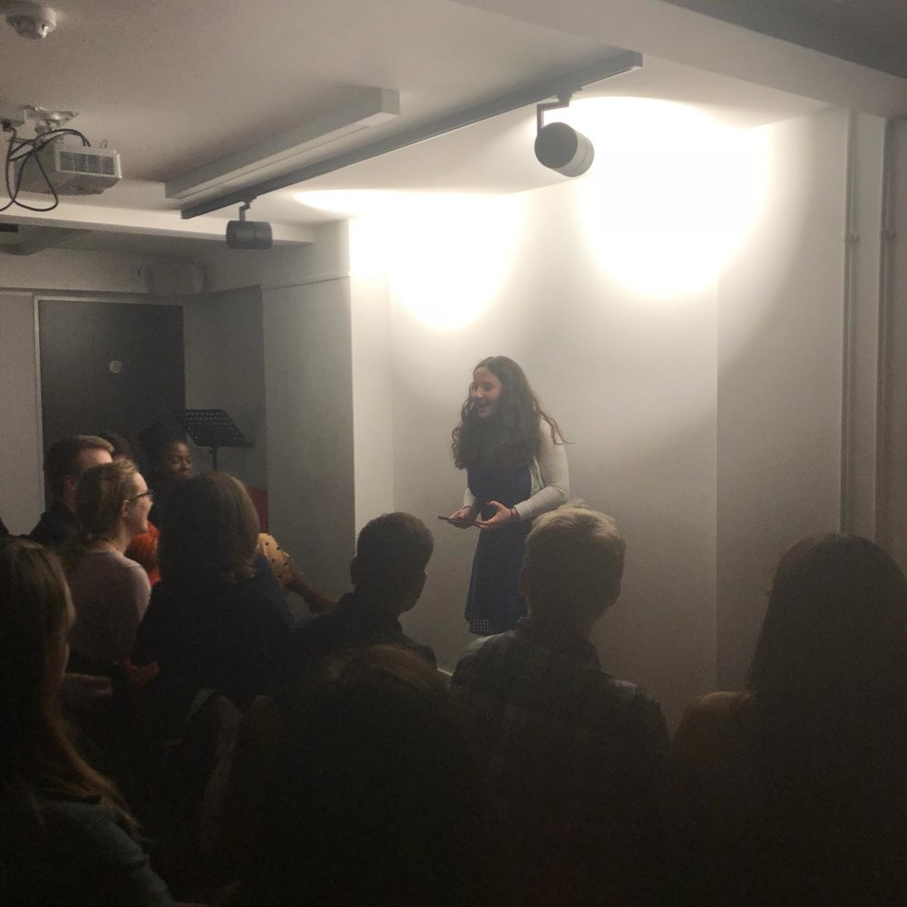 We were so pleased that so many of you could join us for this wonderful event. Rachel jumped straight in, kicking off the evening with selected poems from  Three Degrees of Separation.