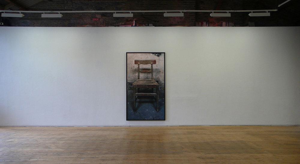 Chair, 2014, Archival pigment print, 266 x 150 cm
