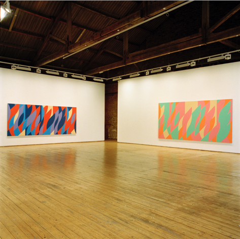 Installation view at Green On Red Gallery, May 2007.
