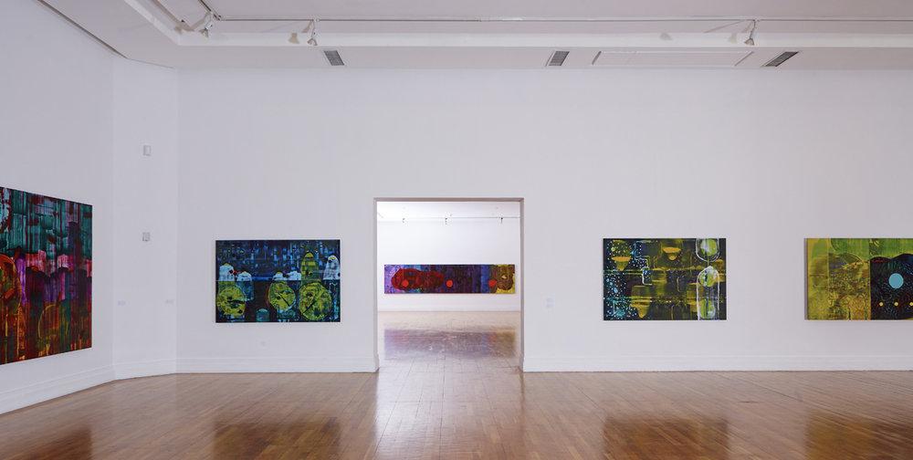 John Cronin ZXX installation view at the Royal Hibernian Academy 2016