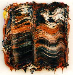 Knockout Oil on canvas 30.5 x 30.5cms 2002